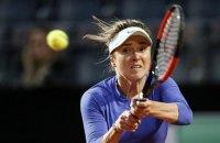 Свитолина драматично уступила Азаренко на Italian Open в Риме