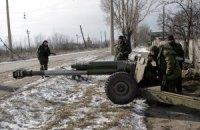 Боевики ночью обстреляли украинских военных из запрещенного оружия