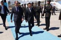 Зеленський прибув з візитом у Туреччину