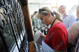 Жена Луценко пришла забрать его домой