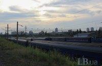 У Києві підліток отримав удар струмом під час спроби піднятися на дах вагона