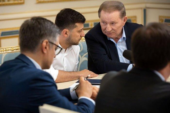 Встреча Президента Владимира Зеленского с членами украинской части Трехсторонней контактной группы по мирному урегулированию ситуации на Донбассе, 3 июня 2019.