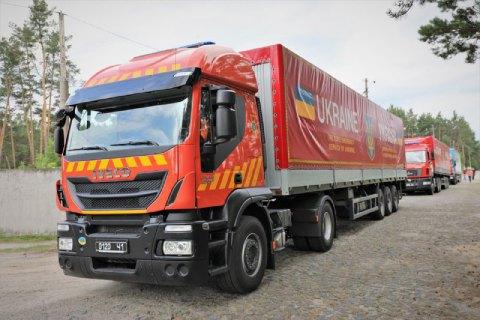 Украина отправила Литве последнюю партию колючей проволоки для защиты границы с Беларусью