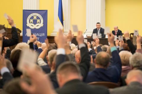 Кличка переобрали головою Асоціації міст України на другий термін