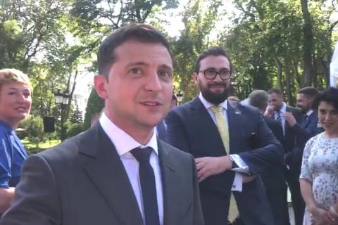 """Зеленський ще не вибрав нового прем'єра: """"Мені подобаються дві людини"""""""