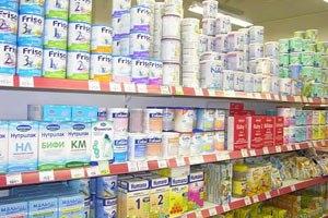 Беларусь экспортирует в Украину детское питание