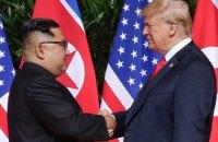 Трамп розраховує на швидку зустріч з Кім Чен Ином