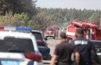 На Харківщині оголосили надзвичайну ситуацію через лісову пожежу