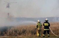 У найбільшому національному парку Польщі тиждень не можуть загасити пожежу