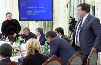 Відео конфлікту Авакова і Саакашвілі з'явилося в мережі