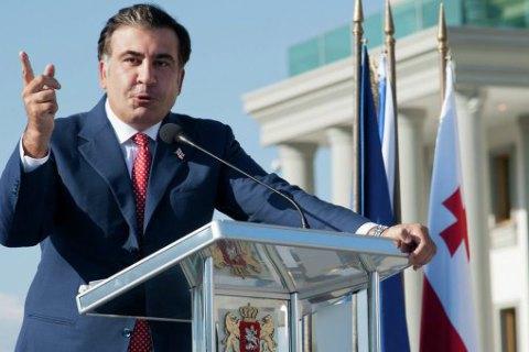 Саакашвілі заявив, що криміналітет пішов з Одеси