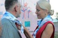 Табачник в Крыму удостоился внимания красивой женщины