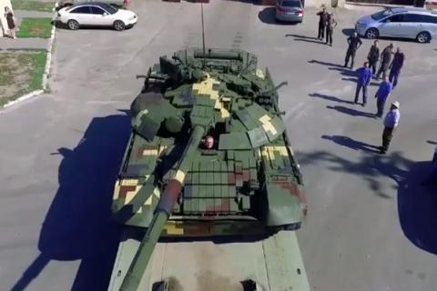"""""""Київський бронетанковий завод"""" удосконалив танк Т-72А"""