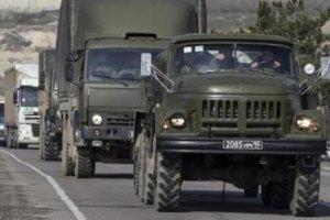 Місія ОБСЄ зафіксувала 19 бензовозів і 8 військових вантажівок під Донецьком