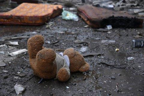 Від початку конфлікту на Донбасі загинули 152 дитини, 146 дістали поранення