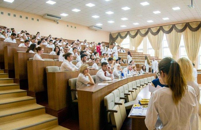 Студенти Запорізького державного медичного університету