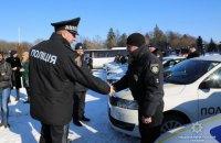 Полиция Винницкой области получила 23 новых служебных автомобиля