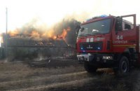 На Харківщині внаслідок лісових пожеж згоріли 22 житлові будинки