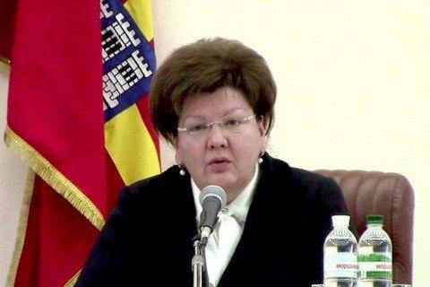 Глава Житомирского облсовета ушла в отставку