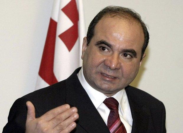 Зураб Жвания, премьер-министр Грузии в 2003—2005.
