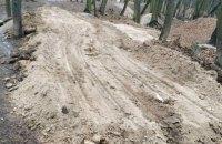 Київська влада вирішила знести велопарк у Голосіївському лісі