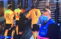 Стало известно, что заставило лайнсмена матча Лиги чемпионов взять на карточках автограф у Холанда