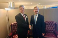 Пристайко провів зустріч з генеральним секретарем ОБСЄ Гремінгером
