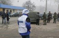 ОБСЕ призвала прекратить огонь на Донбассе на Пасху