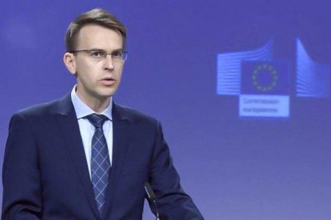 Евросоюз призвал Раду срочно изменить закон о НАБУ и напомнил о безвизе