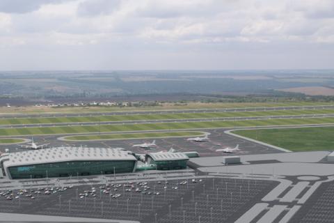 Реконструкція аеропорту в Дніпрі почнеться влітку 2020 року