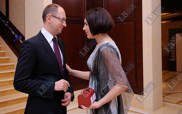 Арсений Яценюк и Соня Кошкина