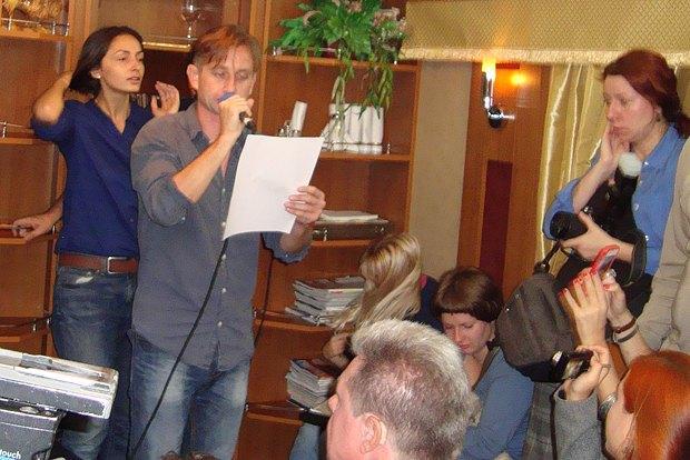 Сергей Жадан признался, что его стихотворений на тему поездов наберется на целый сборник