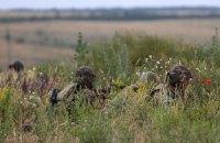 У Новоазовска пограничники дали бой террористам с белыми повязками