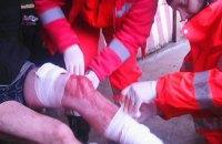 У Новотроїцькому медики ПДМШ надали допомогу пораненому діду, який «народився в бронежилеті» та любить розповідати анекдоти