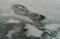 В Запорожской области провалились под лед и утонули трое 5-летних детей