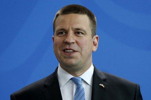 Прем'єр Естонії назвав нульовими політичні відносини з Росією