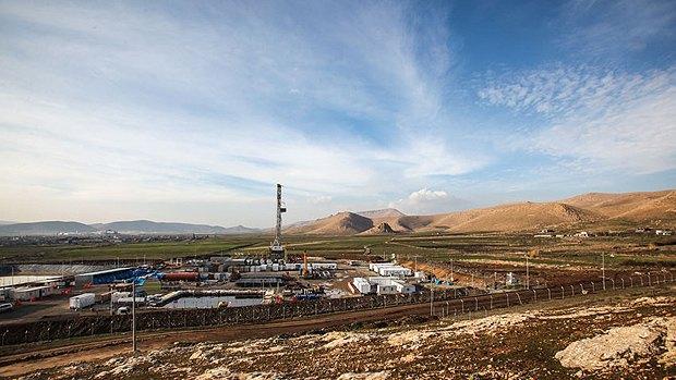 Строительство Курдистанского газопровода