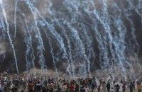 Число поранених на кордоні Ізраїлю і сектора Газа перевищило 1000