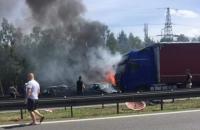 У Польщі зіткнулися і загорілися 7 автомобілів, 6 загиблих
