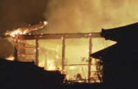 В Японии сгорел замок из списка ЮНЕСКО