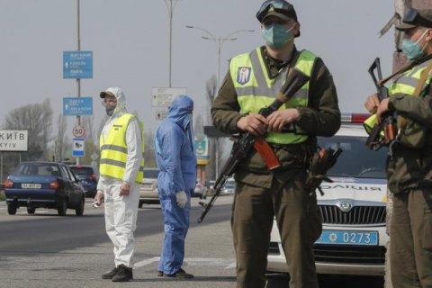 На дорогах Ивано-Франковской области установили блокпосты из-за COVID-19