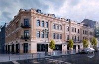 Фасад Центрального гастронома в Киеве после реконструкции обещают оставить трехэтажным