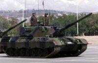 Туреччина провела танкові навчання поблизу кордону з Сирією