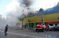 Пожежа в будівлі біля ЦУМу могла статися через недбалість будівельників, - Білоцерковець