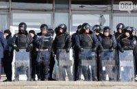 В Запорожье начался штурм здания областной госадминистрации