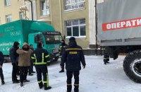 """У Рівному вантажівка гурту """"Без Обмежень"""" застрягла в сніговому заметі"""