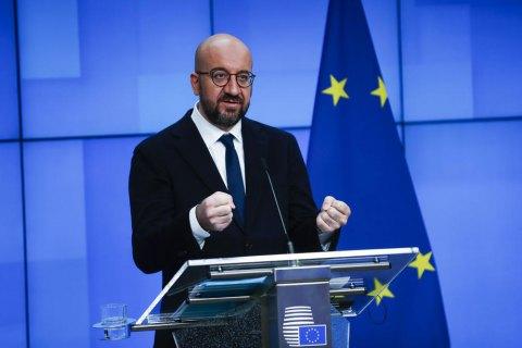 Глава Ради ЄС пообіцяв білорусам підтримку і наголосив на їхньому праві організувати нові президентські вибори
