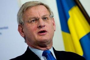 Процесс евроинтеграции Украины остановлен, - МИД Швеции