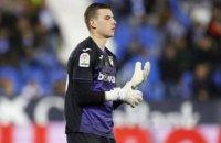 """Лунин отказал """"Реалу"""" в досрочном возвращении из аренды, - СМИ"""