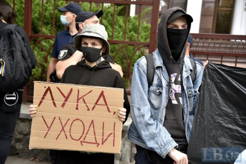 В Бресте во время протестов задержали украинца